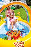 """Intex Игровой центр 282х173х107см """"Винни Пух"""" Disney, от 3 лет, распрыскиватель, 2 бассейна и горка, уп.2, фото 3"""