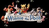 """Intex Игровой центр 282х173х107см """"Винни Пух"""" Disney, от 3 лет, распрыскиватель, 2 бассейна и горка, уп.2, фото 5"""