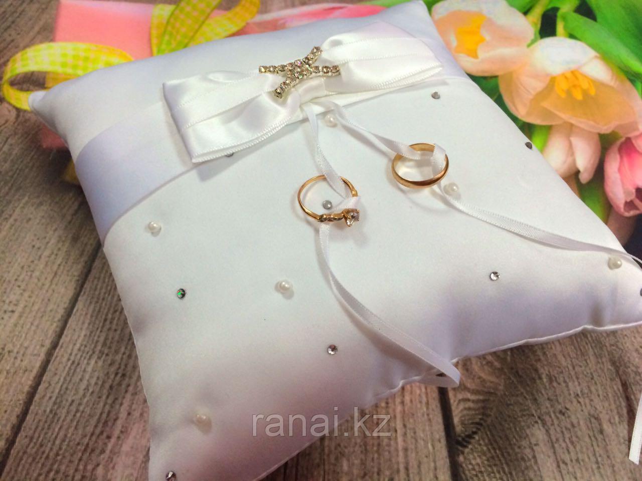 Подушечка для свадебных колец алматы