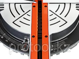 """Пила ЗУБР """"МАСТЕР"""" торцовочная, 210 мм, 1600 Вт, 4500 об/мин, лазер, удлинители стола, фото 3"""