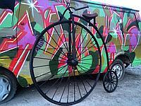 Велосипед кованый, фото 1