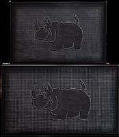 Коврик напольный АМ(Носорог) 40 х 60см, 10 шт/уп