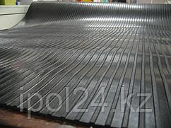 Дорожка из резины(полоски) 1.20м х 10м х 3 мм рул.