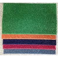 Коврик напольный из цветной резины CRG- 710 450х750 мм.  Цвета - зеленый, оранжевый, фиолетовый, малиновый, серый 10шт/уп