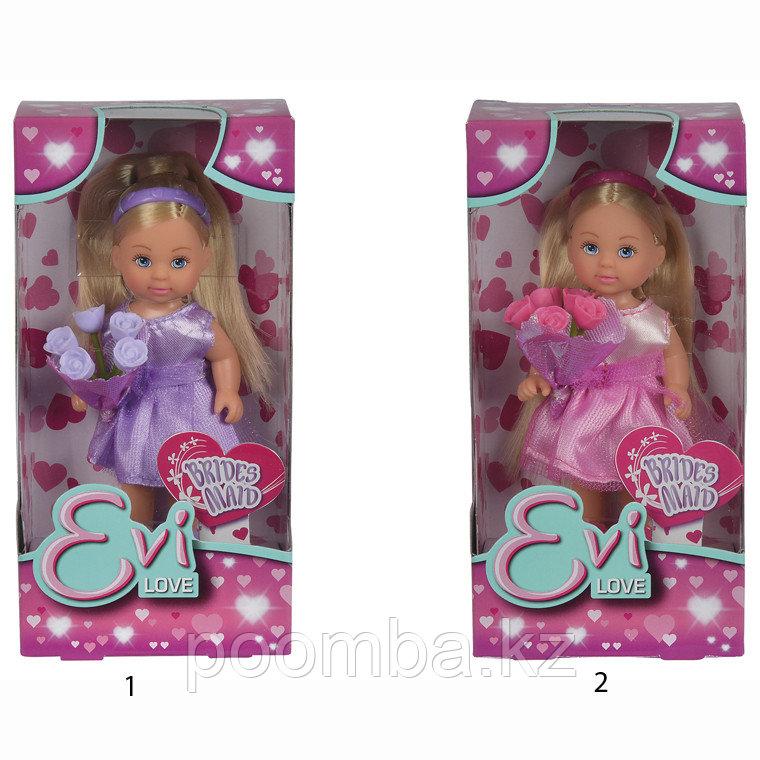 """Кукла Еви """"Подружка невесты"""" 12 см"""