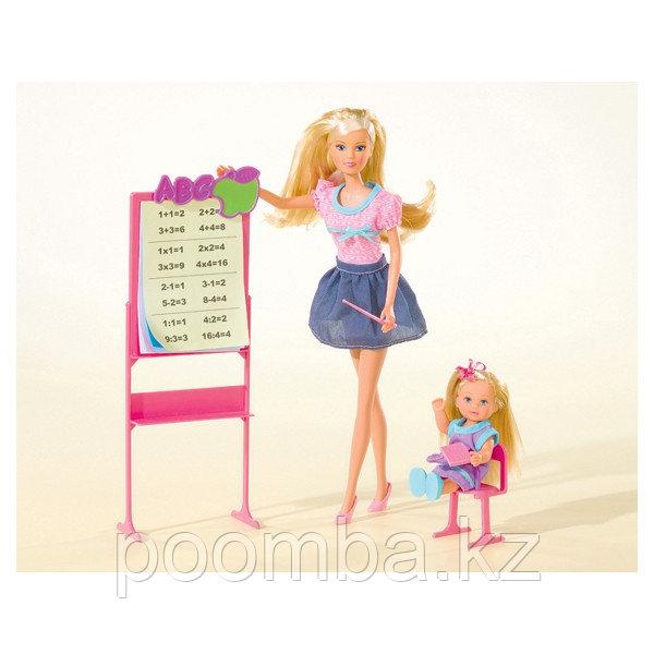 """Игровой набор Steffi учитель и Evi ученица""""Школа"""""""