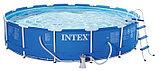 Intex Чаша для каркасного бассейна 457x107см, Metal Frame Pool, уп.1, фото 2