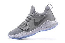 Баскетбольные кроссовки Nike PG1 from Paul George серые, фото 3
