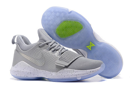 Баскетбольные кроссовки Nike PG1 from Paul George серые, фото 2