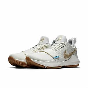 Баскетбольные кроссовки Nike PG1 from Paul George белые, фото 2