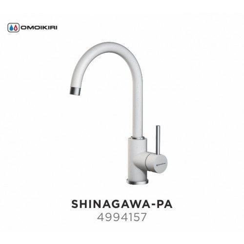 Смеситель OMOIKIRI SHINAGAWA-PA (4994157), ПАСТИЛА/ХРОМ