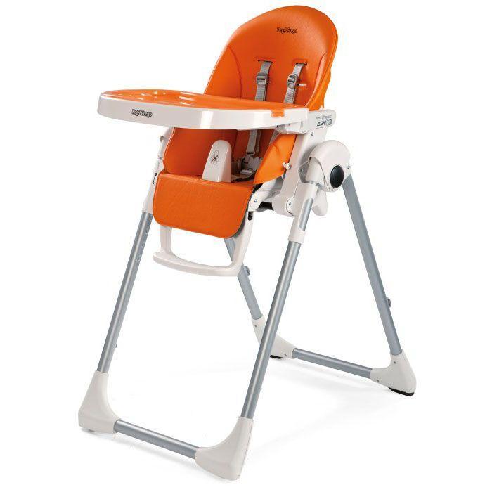 Детский стульчик Peg Perego Prima Pappa Zero-3 Arancia