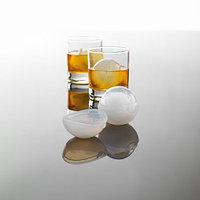 Шарик Mastrad для льда 6 см - 4 формы из силикона, белые - в прозрачной коробке F00602. Алматы