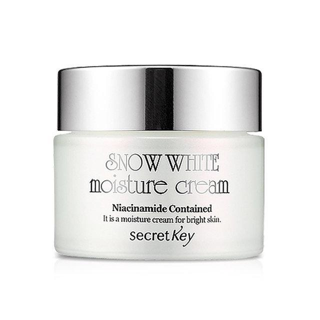 Отбеливающий крем для лица и тела Secret Key Snow White Moisture Cream