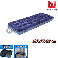 Односпальный надувной матрас Bestway 67000, 67446, размер 187х77х22 см