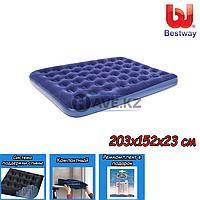 Двухспальный надувной матрас Bestway 67003, размер 203х152х23 см, фото 1