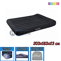 Двухспальный надувной Матрас Intex 66770, 64144, размер 203х183х23 см, фото 1