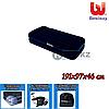 Односпальный надувной матрас Bestway 67381, размер 191х97х46 см, с электрическим насосом