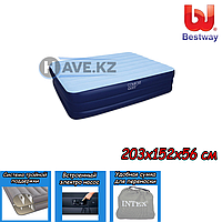 Двухспальный надувной матрас Bestway 67451 - размер 203х152х56см, фото 1