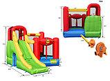 Детский надувной игровой центр (6в1) Happy Hop, фото 2