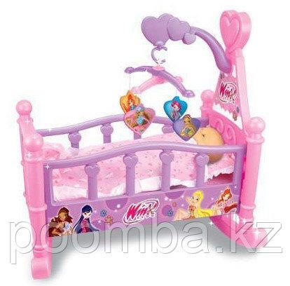 """Кроватка для куклы""""Winx""""с каруселькой"""