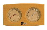 """Термометр с гигрометром """"Банная станция"""" 24,5 x 13,4 x 3cм"""