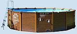 Intex Каркасный бассейн Graphite Panel 478х124 см, 16805л, песочн.фил-насос, лестница, тент, подстилка, фото 4