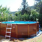 Intex Каркасный бассейн Graphite Panel 478х124 см, 16805л, песочн.фил-насос, лестница, тент, подстилка, фото 6