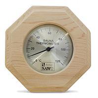 Термометр восьмигранный д.20см с фигурками людей