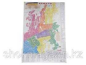Карта Алматы 1,40*1м