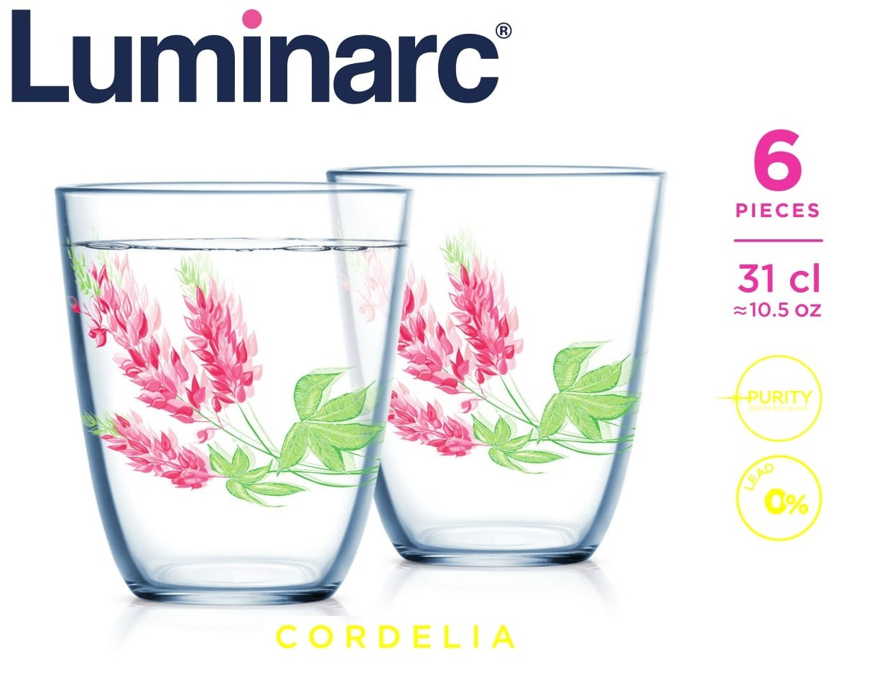 Набор стаканов Luminarc Cordelia 310 мл (6 шт.)