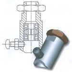 Металлический держатель для запасной головки ВО 2449.* (360°)