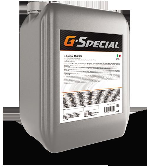 G-Special TO-4 10W  20л. – трансмиссионно-гидравлическое масло для КПП спец.техники