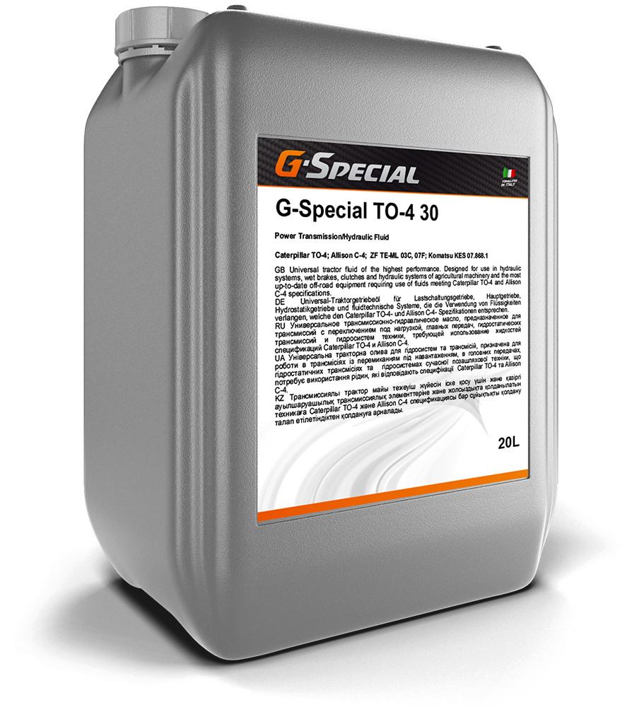 G-Special TO-4 30  20л. – трансмиссионно-гидравлическое масло