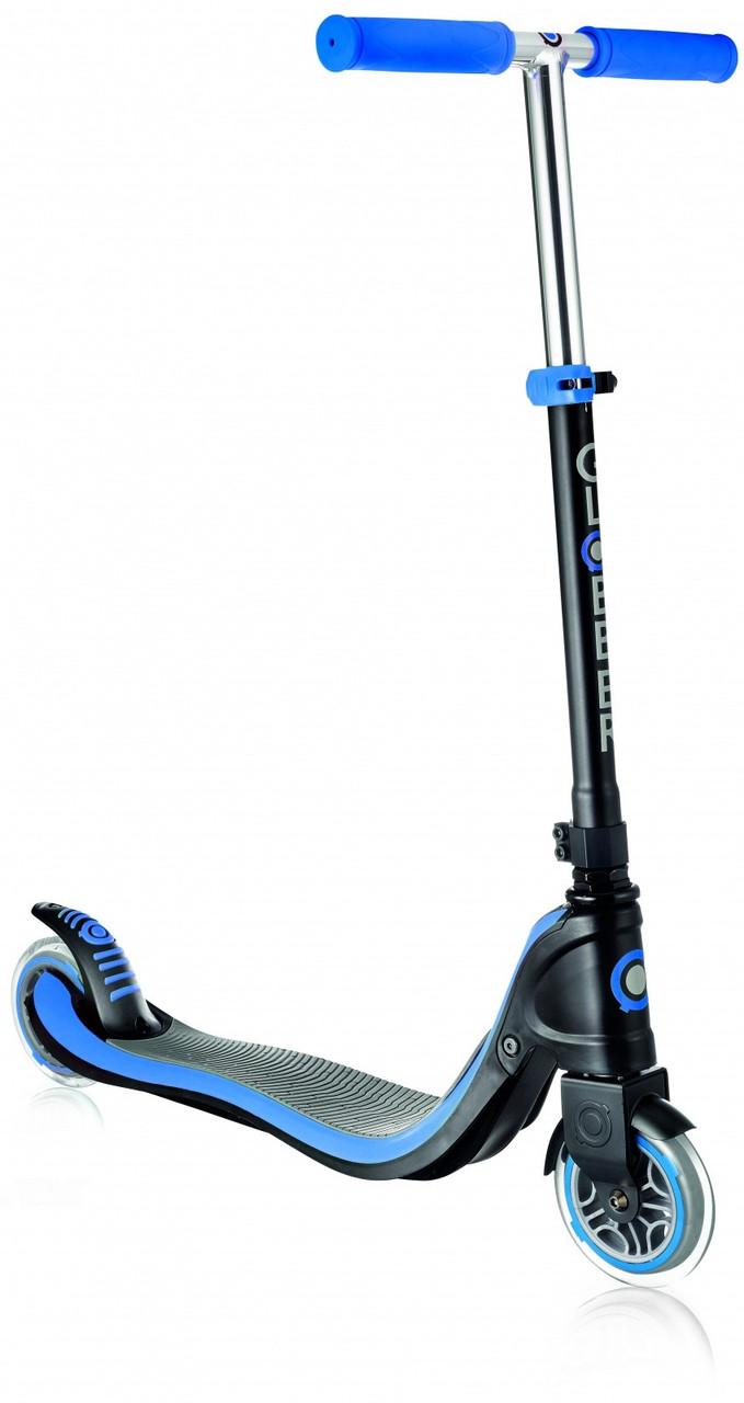 470-100 Самокат инновационный 2х-колесный Globber My TOO Fix Up от 6 лет, до 100кг нагрузки. - голубой