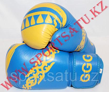 Боксерские перчатки GGG кожа