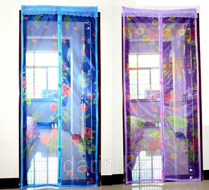 Сетка москитная для дверей с магнитной лентой (120х210см) Moskit