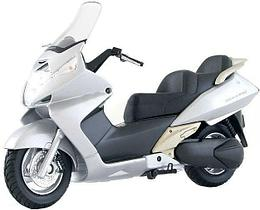 1/18 Welly Honda Silver Wing