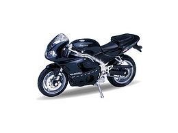1/18 Welly Масштабная модель мотоцикла Triumph Daitona 955I