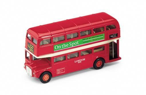 1/34 Welly Автобус London Bus (закрытый)