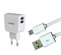 Зарядное устройство LDNIO Micro USB DL-AC56