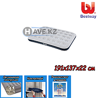Полуторный надувной матрас Bestway 67408, размер 191х137х22 см, фото 1