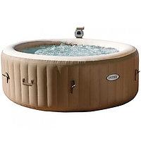 Intex СПА-бассейн Bubble Massage 145/196х71см, круглый с круговым пузырьковым массажем