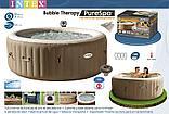 Intex СПА-бассейн Bubble Massage 165/216х71см, круглый с круговым пузырьковым массажем, фото 5