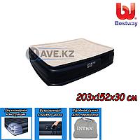 Двухспальный надувной матрас Bestway 67432, размер 203х152х30 см, фото 1