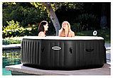 Intex СПА-бассейн Jet and Bubble Deluxe 150/201х71см,восьмигр, гидромас+пузыр,хлорогенератор, фото 2