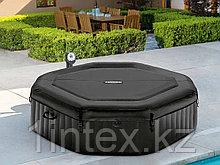 Intex СПА-бассейн Jet and Bubble Deluxe 168/218х71см,восьмигр, гидромас+пузыр,хлорогенератор