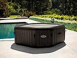 Intex СПА-бассейн Jet Massage 168/218х71см, восьмигранный с гидромассажем, фото 2