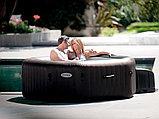 Intex СПА-бассейн Jet Massage 168/218х71см, восьмигранный с гидромассажем, фото 3