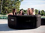 Intex СПА-бассейн Jet Massage 168/218х71см, восьмигранный с гидромассажем, фото 4